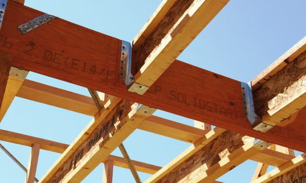 Residential Application of LP® SolidStart® Engineered Wood Products