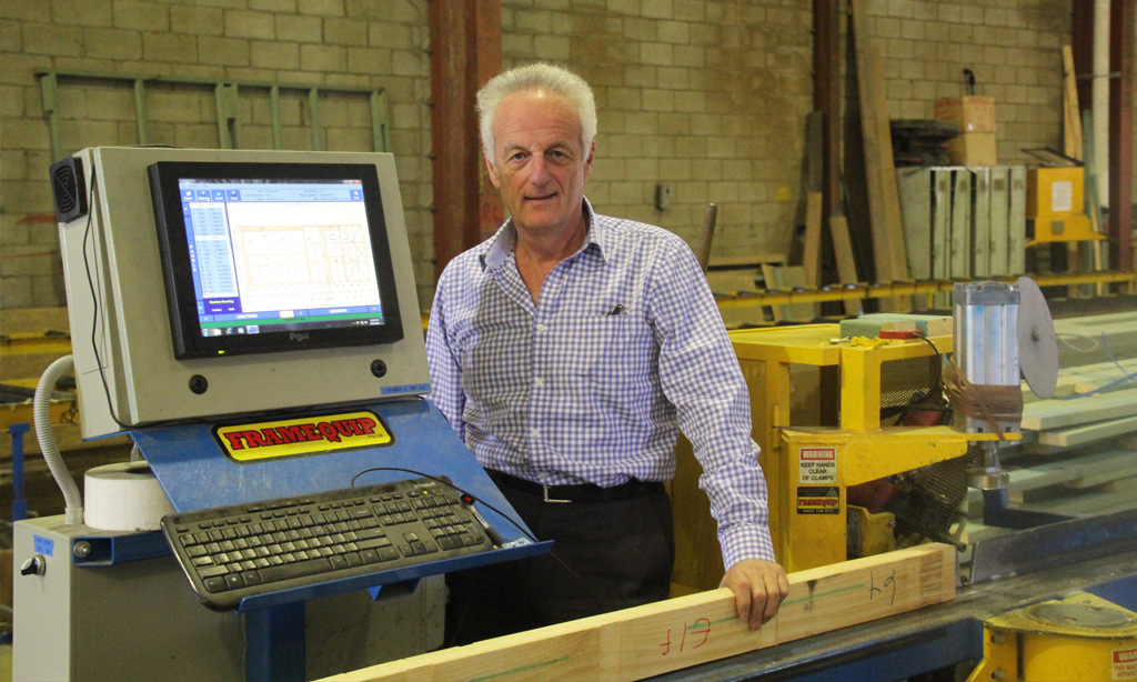 5 minutes with Gary Walker of Belmont Timber