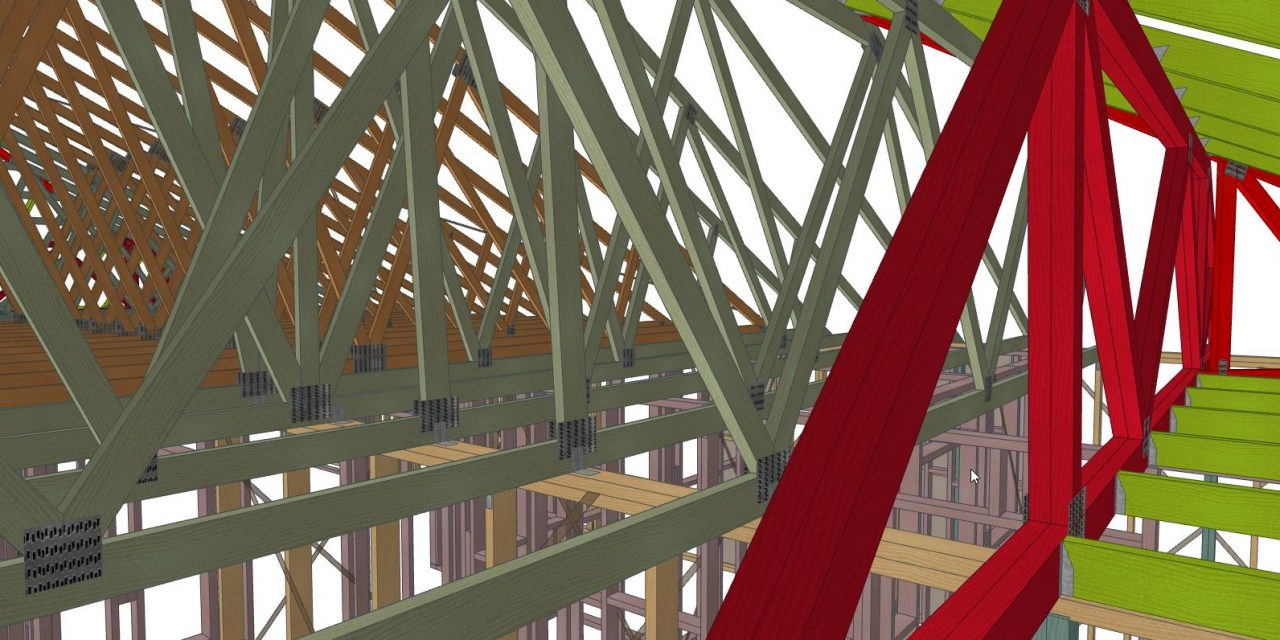 SAPPHIRE™ Structure tees off at Frames & Trusses