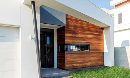 Timber cladding for beauty and fire safety