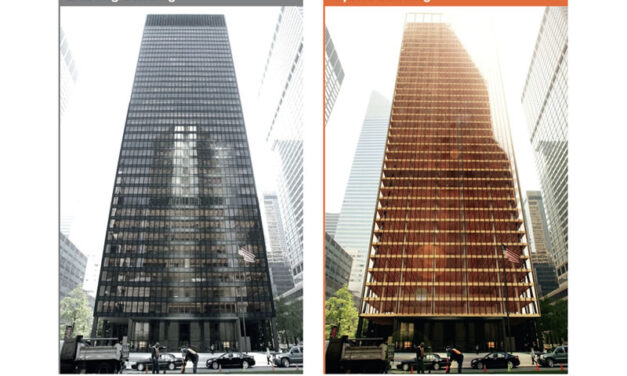 Seagram Building Re-imagined