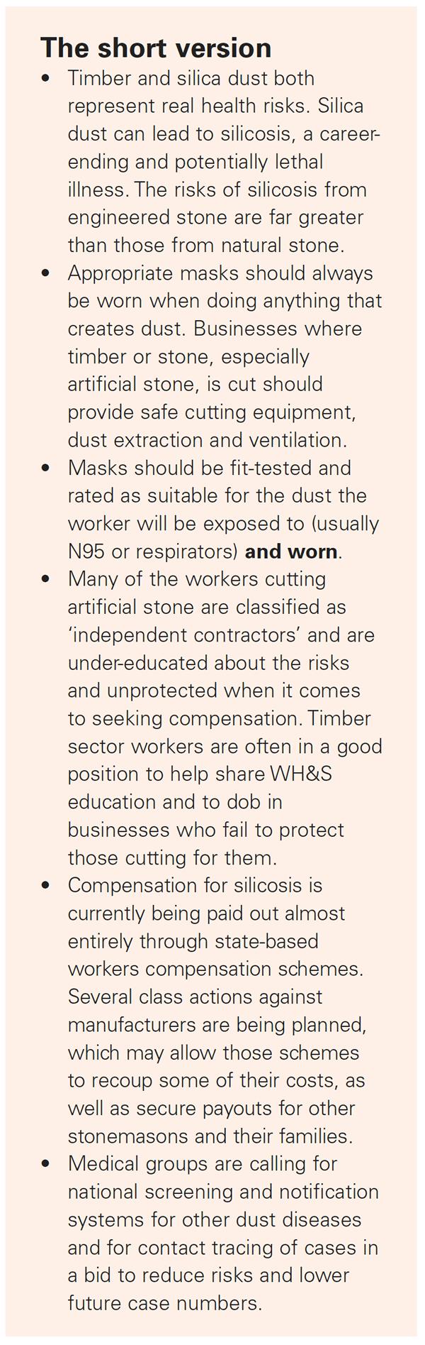 Dust Diseases 2021-06
